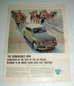 1960 DKW Car Ad w/ Shipstads & Johnson Ice Follies Cast