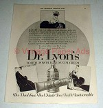 1923 Dr. Lyon's Tooth Powder and Dental Cream Ad!