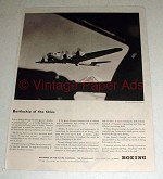 1943 WWII Boeing Flying Fortress Plane Ad - Battleship