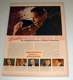 1944 Columbia Records Ad - Adolf Busch - Virtuoso