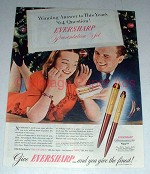 1945 Eversharp Pen Presentation Set Ad - Winning Answer