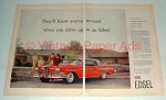 1958 2-page Ford Edsel Car A d- You've Arrived