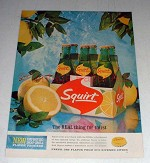 1964 Squirt Soda Ad - The Real Thing for Thirst