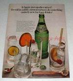 1964 Sprite Soda Ad - Subtle Natural Tartness