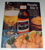 1964 Carling Black Label Beer Ad - People Like It