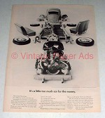 1964 Volkswagen Bug VW Beetle Ad - Too Much Car