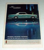 1966 Oldsmobile Delta 88 Holiday Sedan Ad!