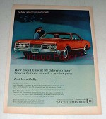 1966 Oldsmobile Delmont 88 Car Ad - Fine Car Features