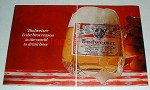 1967 Budweiser Beer Ad - Best Reason in the World