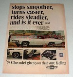 1967 Chevrolet Impala Sport Coupe Ad - Smoother