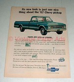 1967 Chevrolet Chevy Pickup Truck Ad - New Look