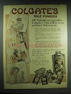 1915 Colgate's Talc Powder Ad - All Talcums Not Alike