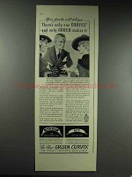 1937 Gruen Curvex Watch Ad - There's Only One