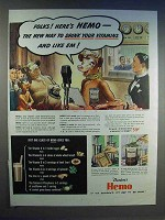 1942 Borden's Hemo Drink Ad - Drink Your Vitamins