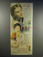 1943 Yardley Bond Street Perfume, Make-up Ad