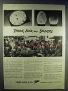 1943 Parke, Davis & Co. Ad - Typhus, Eggs and Soldiers