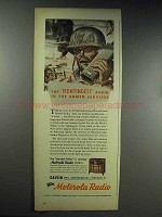 1944 Motorola Handie-Talkie Radio Ad - Fightingest