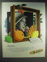 1944 Life Savers Five-Flavor Candy Ad - Dear Mom