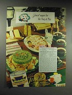 1946 Stokely's Tasty King Peas Ad - Cape Cod Salad
