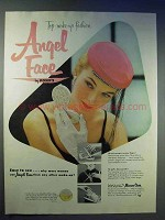1954 Pond's Angel Face Make-Up Ad - Fashion