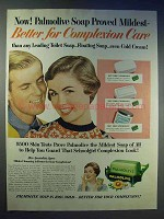 1954 Palmolive Soap Ad - Better for Complexion Care