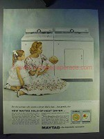 1959 Maytag Washer and Dryer Ad - Halo-of-Heat
