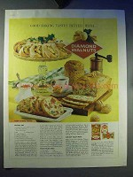 1959 Diamond Walnuts Ad - Good Baking Tastes Better