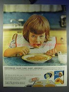 1959 Aunt Jemima Buttermilk Pankcake Mix Ad - Remember
