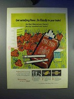 1959 Pall Mall Cigarettes Ad - Satisfying Flavor