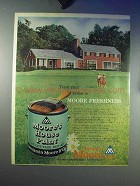 1959 Benjamin Moore Paint Ad - Treat Home to Freshness