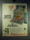 1960 Hotpoint Electric Range Ad - Simplified Cooking