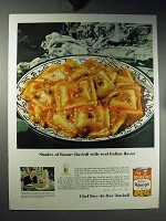 1960 Chef Boy-ar-dee Beef Ravioli Ad - Shades of Rome