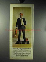 1964 Lee Leesures Clothes Ad - Contro IV Slacks