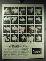 1964 Jockey Menswear T-Shirts Ad - Keep Their Fit