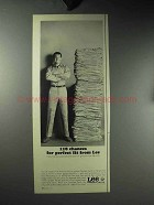 1964 Lee Chetopa Twills Work Clothes Ad - Perfect Fit