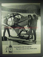 1965 Hiram Walker Imperial Whiskey Ad - Knowledgeable