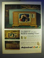 1966 Admiral Color TV Ad - Easiest Tuning Ever!