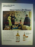1966 Jim Beam Bourbon Ad - Since When Do You Drink?