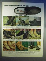 1966 Hush Puppies Shoes Ad - Never Had It So Soft