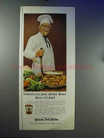 1967 Kentucky Fried Chicken Ad - There's a Colonel