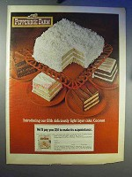 1968 Pepperidge Farm Coconut Layer Cake Ad
