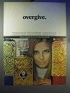 1968 Old Grand Dad Bourbon Ad - Overgive