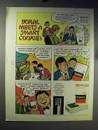 1971 Doral Cigarettes Ad - Meets a Smart Cookie