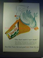 1960 Star-Kist Tuna Ad - The Best Catch I Ever Made