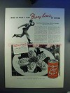1937 Van Camp's Pork and Beans Ad - Hurry Home