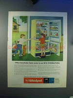 1959 RCA Whirlpool Refrigerator Ad - Finds More