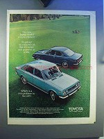 1970 Toyota Mark II Car Ad - Is A Puzzlement