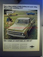 1969 Chevy Longhorn Pickup Ad - Make Something of It
