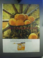 1964 Kraft Peach Preserves Ad - The Summer Sun