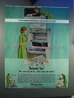1964 Hotpoint Hallmark Range Ad - Walls Slide Out